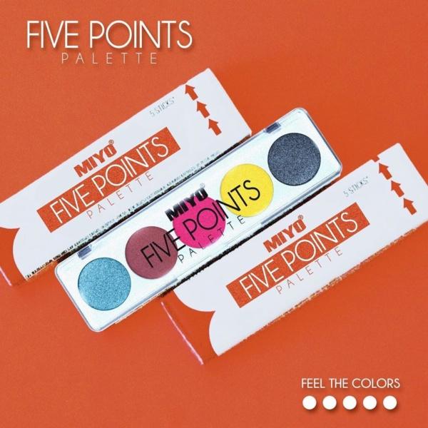 5 Points Eye Shadow 2