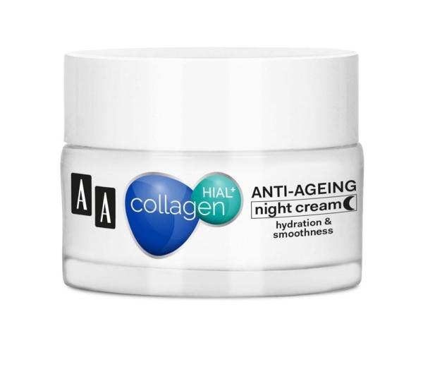 collagen hial plus smoothing and regenerating night cream 50 ml