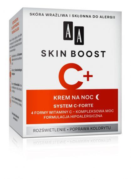 AA Skin Boost Night Cream With Vitamin C 50 ml