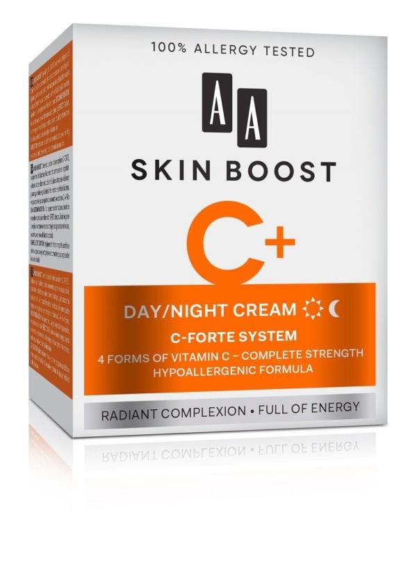 AA Skin Boost Night Cream With Vitamin C 50 ml 2