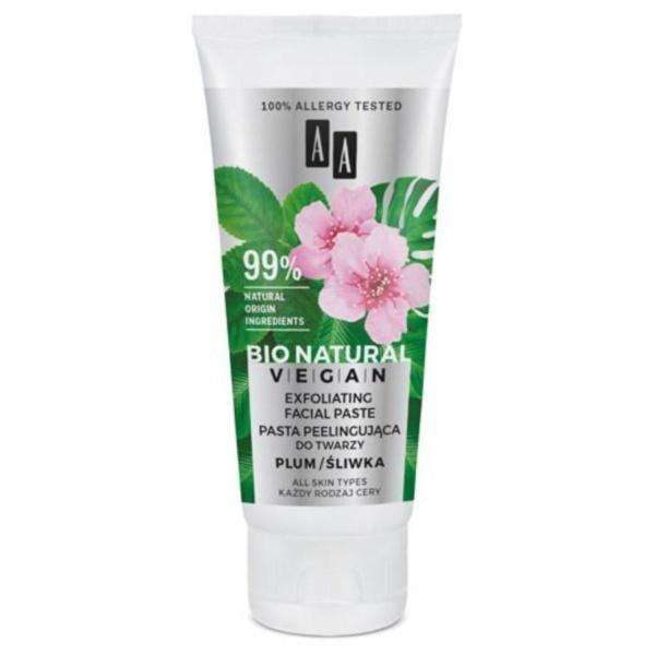 AA Bio Natural Vegan Exfoliating Facial Paste 2