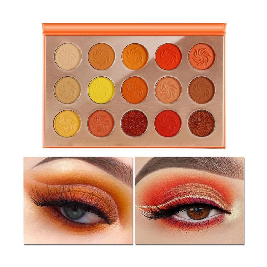 15 Piece Eyeshadow palettes 3