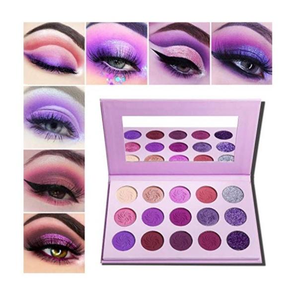 15 Piece Eyeshadow palettes 6