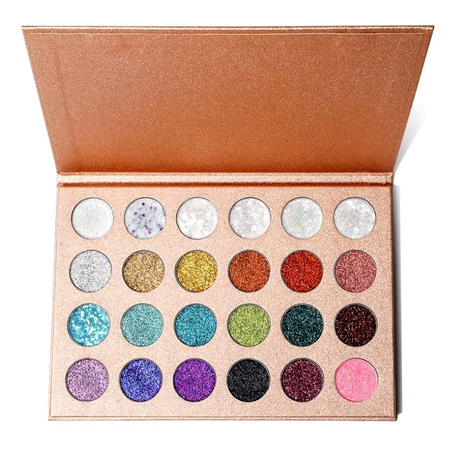 The Glitter Queen 24 Piece Eye Shadow Palette 5