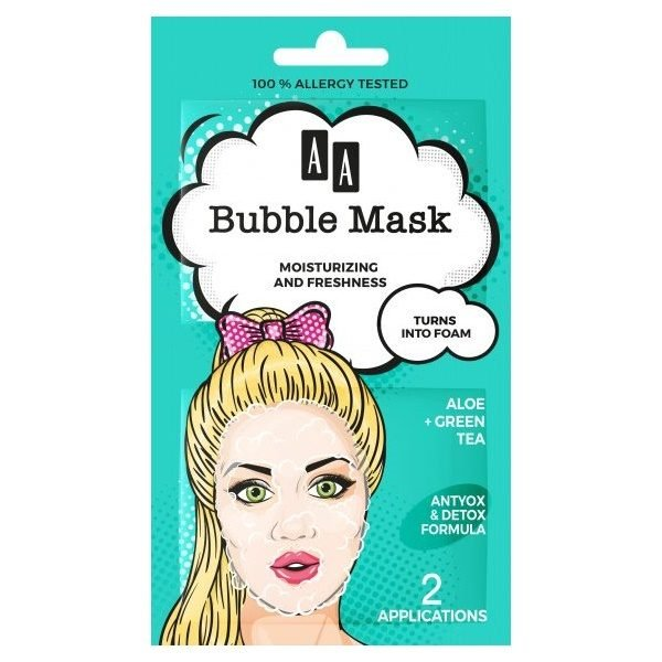 Moisturising Plus Freshness Bubble Mask 2