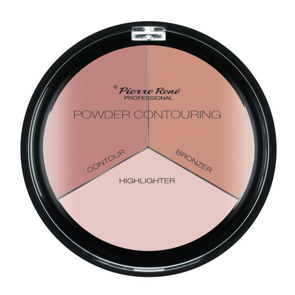 powder contour palette 3 shades