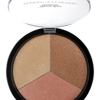 miyomakeup3 shades highlighting powder palette