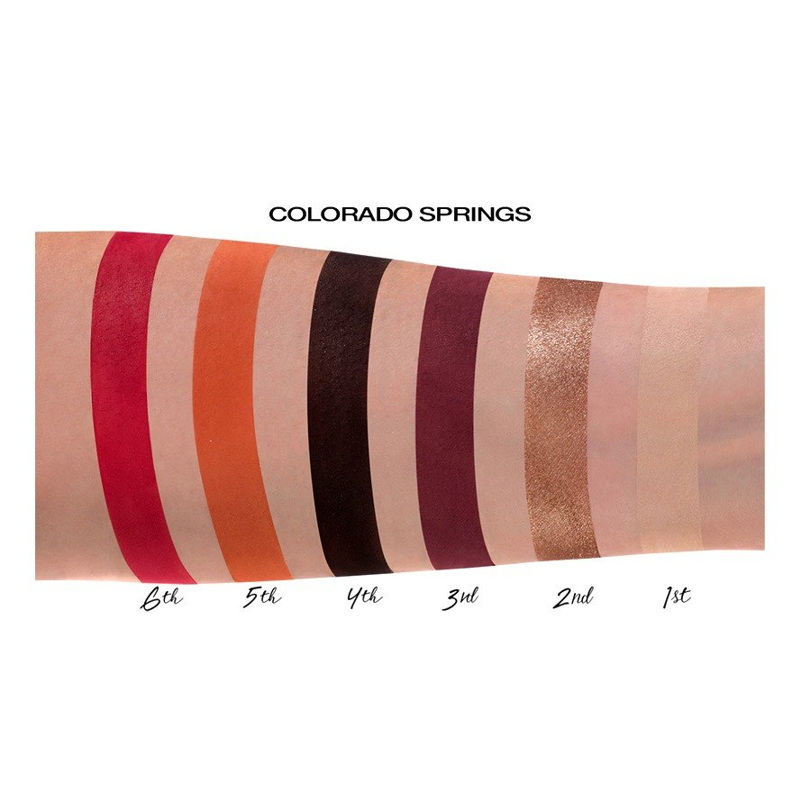 6th Sense Eyeshadow Palettes 12